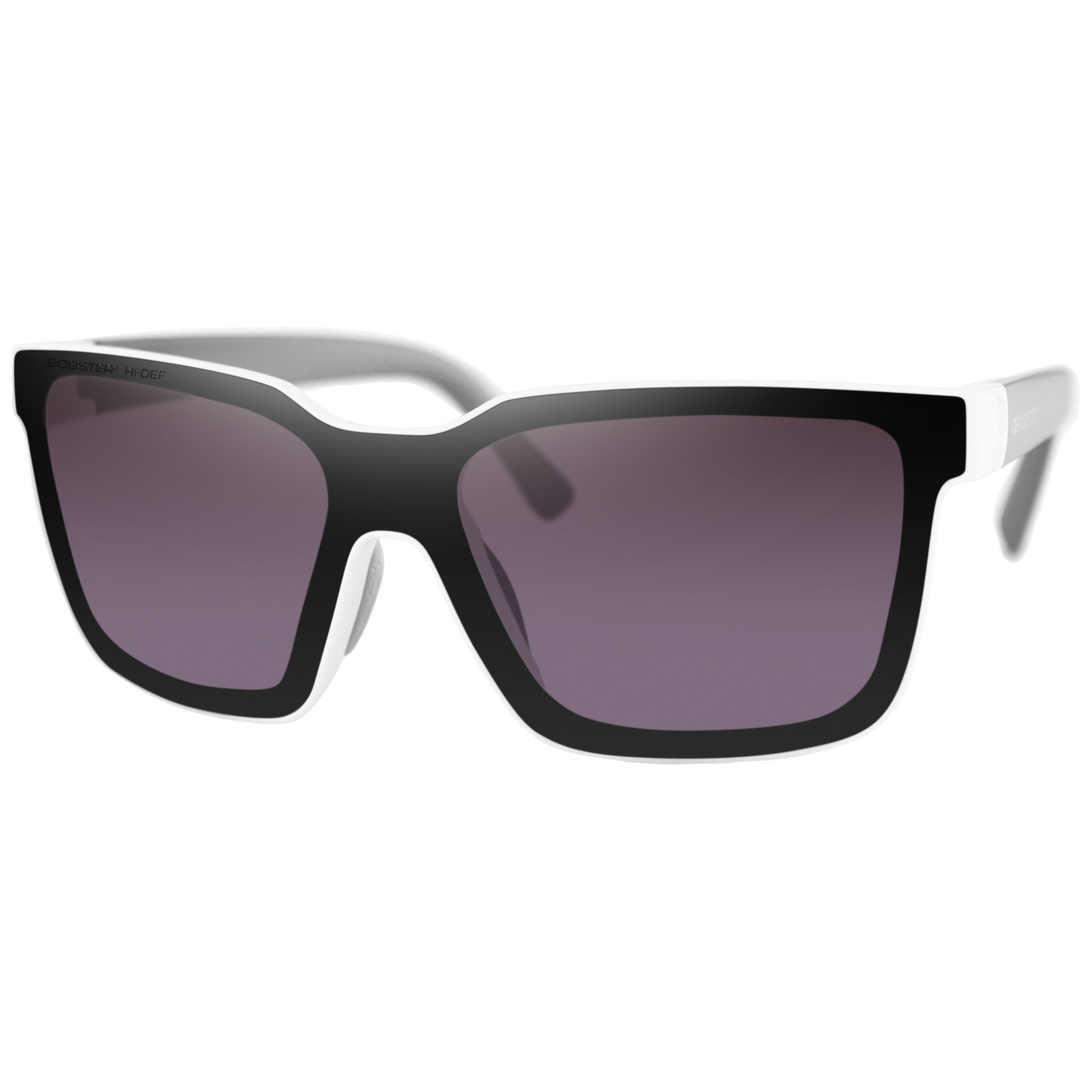 Bobster Boost Gloss White Sunglasses