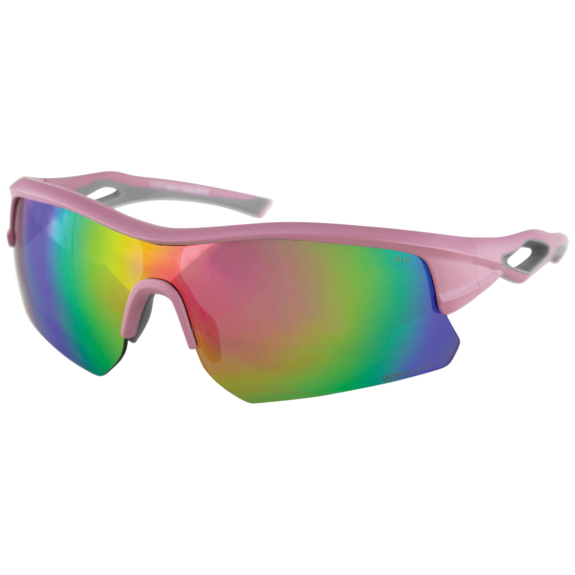 Bobster Dash Matte Pink Sunglasses