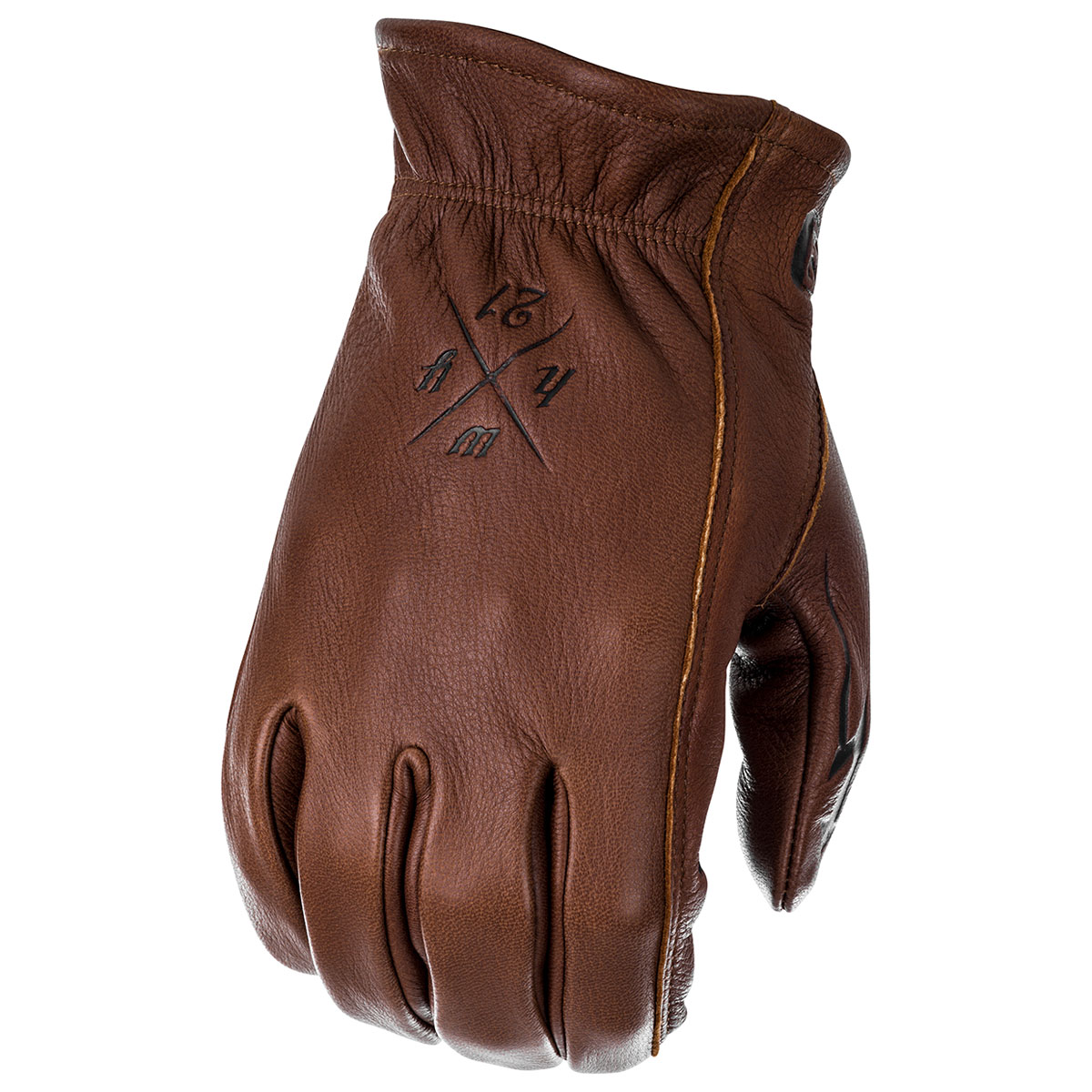 Highway 21 Men's Louie Brown Gloves
