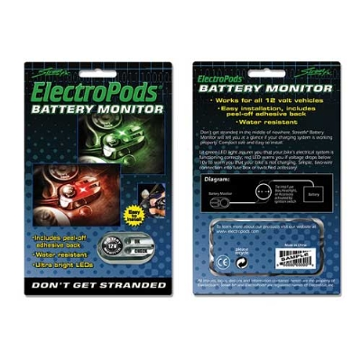 Street FX Electropods Battery Monitor
