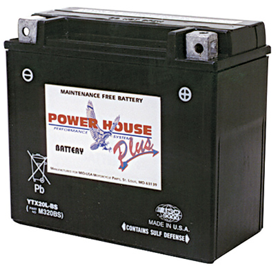 Power House Plus Maintenance Free High Output Battery