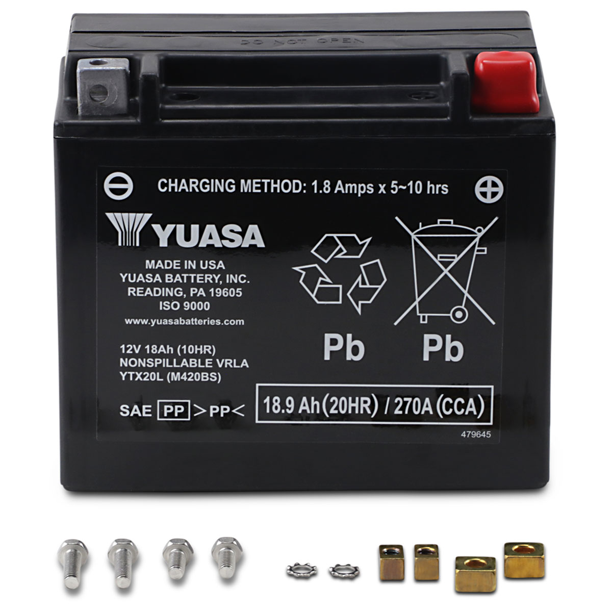 YUASA Factory Activated Battery