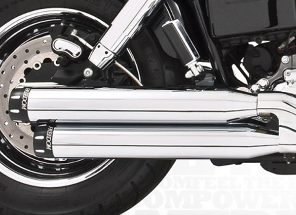 Freedom Performance Exhaust Signature Slip-Ons w/ Black End Caps