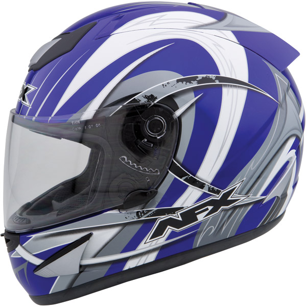 AFX FX-16 Blue Full Face Helmet