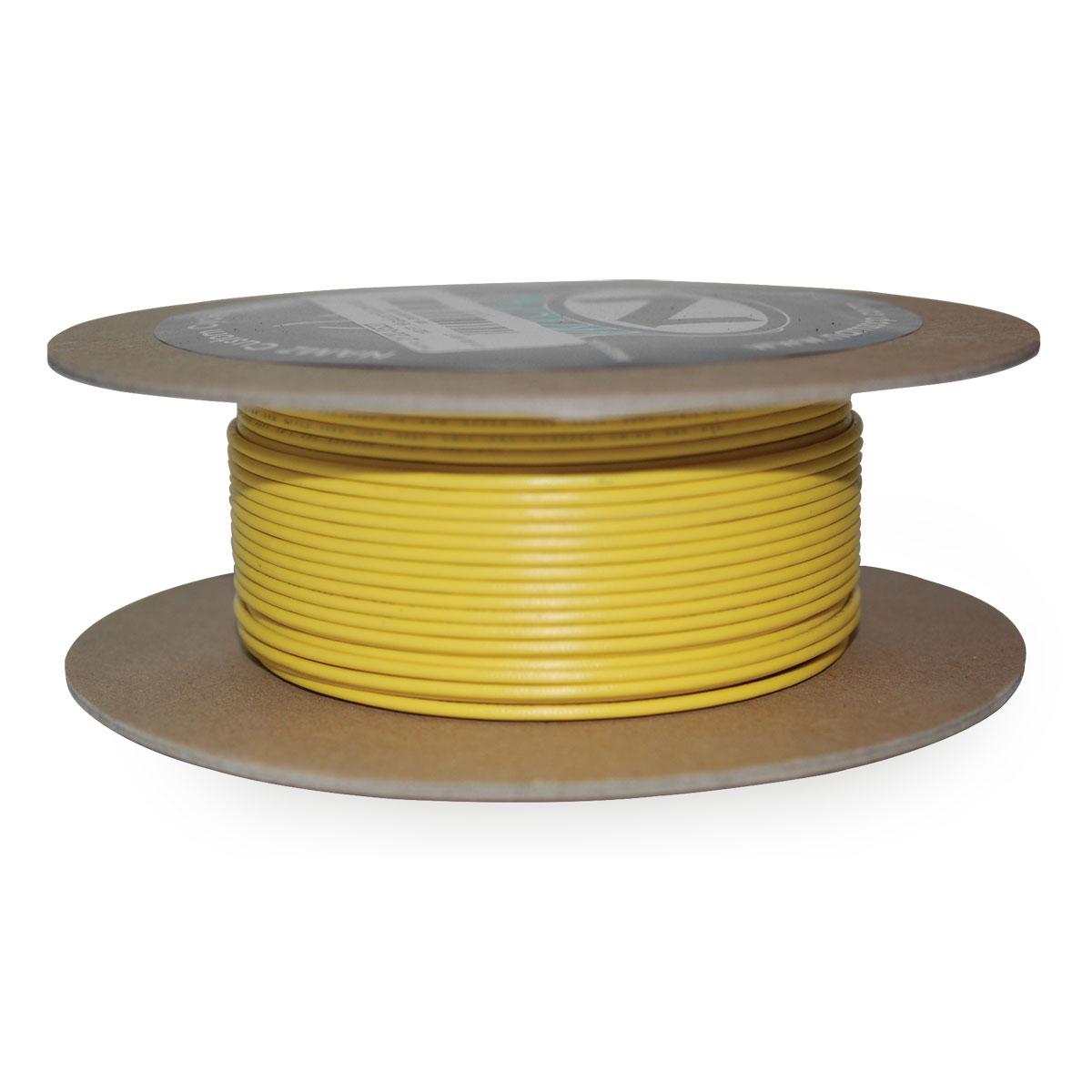 NAMZ Custom Cycle Yellow 18-Gauge Wire