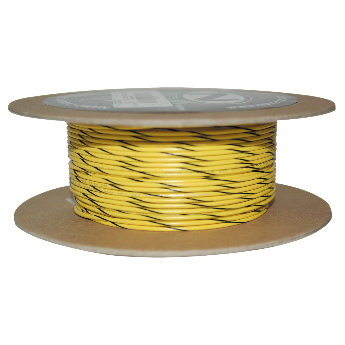 NAMZ Custom Cycle Yellow/Black 18-Gauge Wire