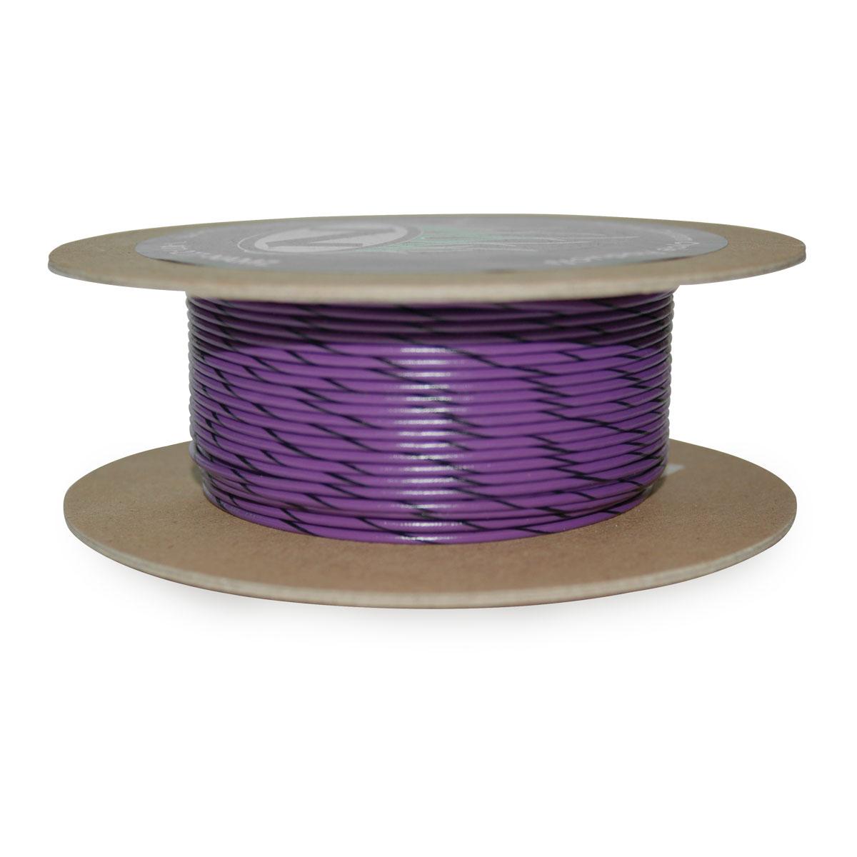 NAMZ Custom Cycle Violet/Black 18-Gauge Wire