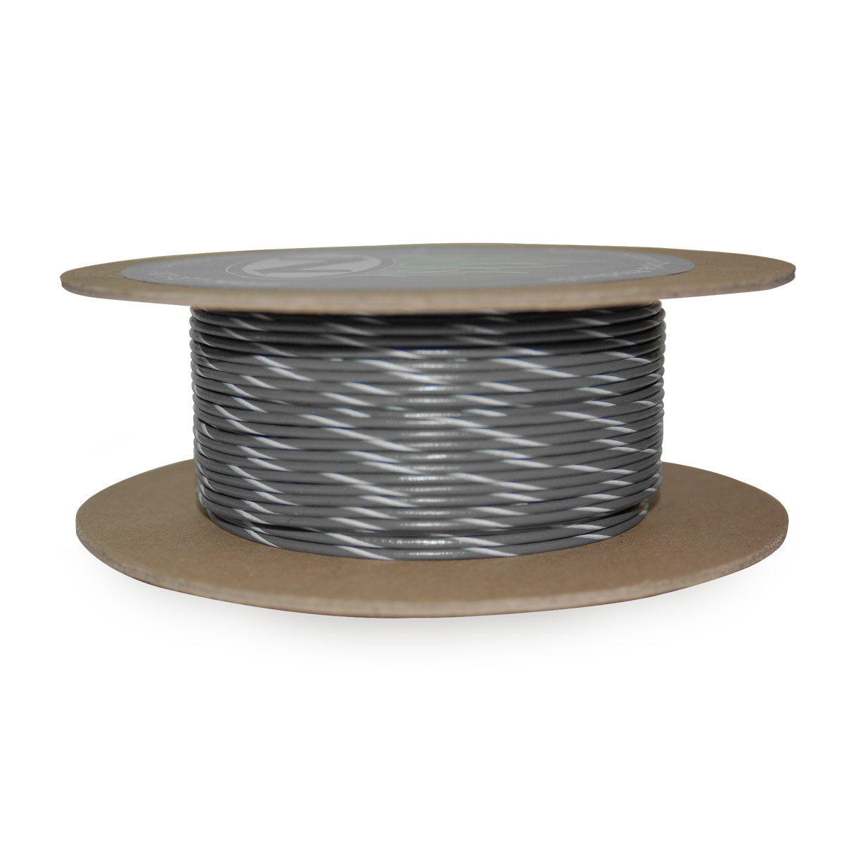 NAMZ Custom Cycle Gray/White 18-Gauge Wire