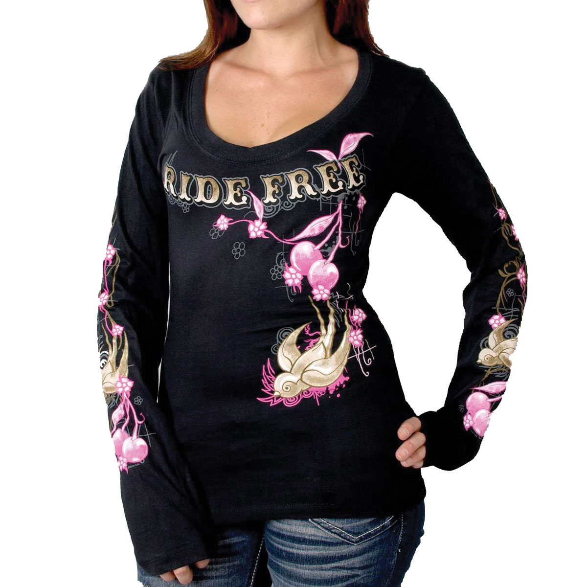 Hot Leathers Ride Free T-shirt