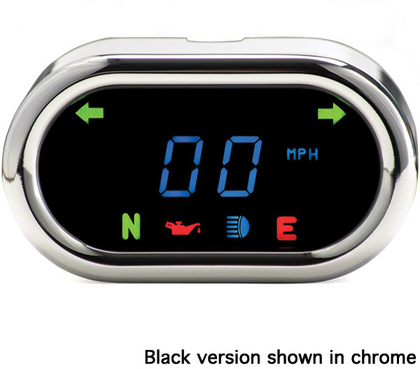 Dakota Digital 5000 Series Classic Black Gauge