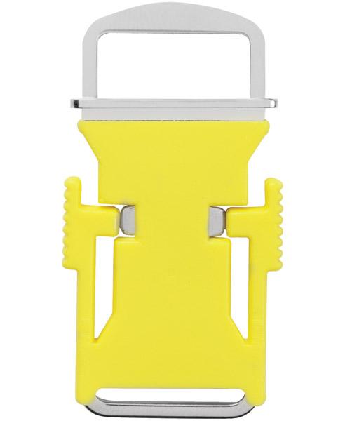 Yellow Echo Quick-Release Buckle