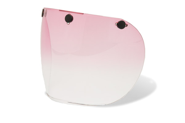 Bell Retro Pink Gradient Shield