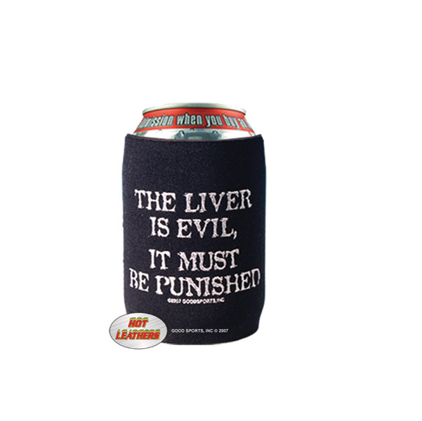 Liver is Evil Can Koozie