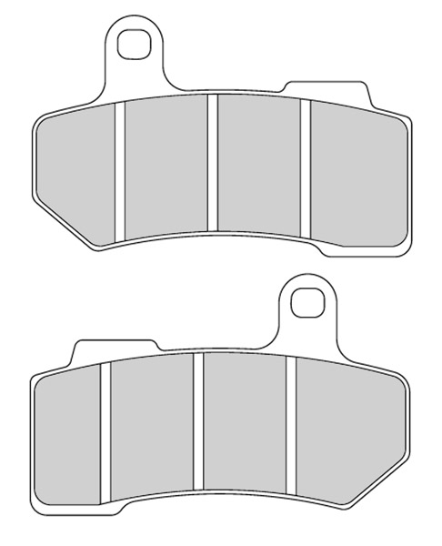 Ferodo Front and Rear Brake Pads for V-Rod