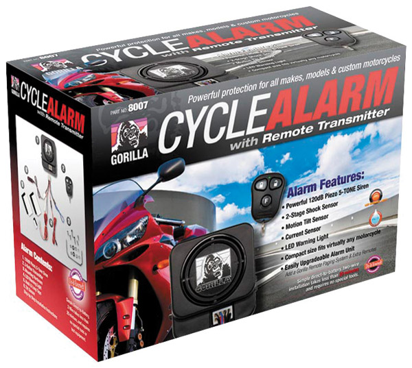 GorillaGuard 8007 Cycle Alarm