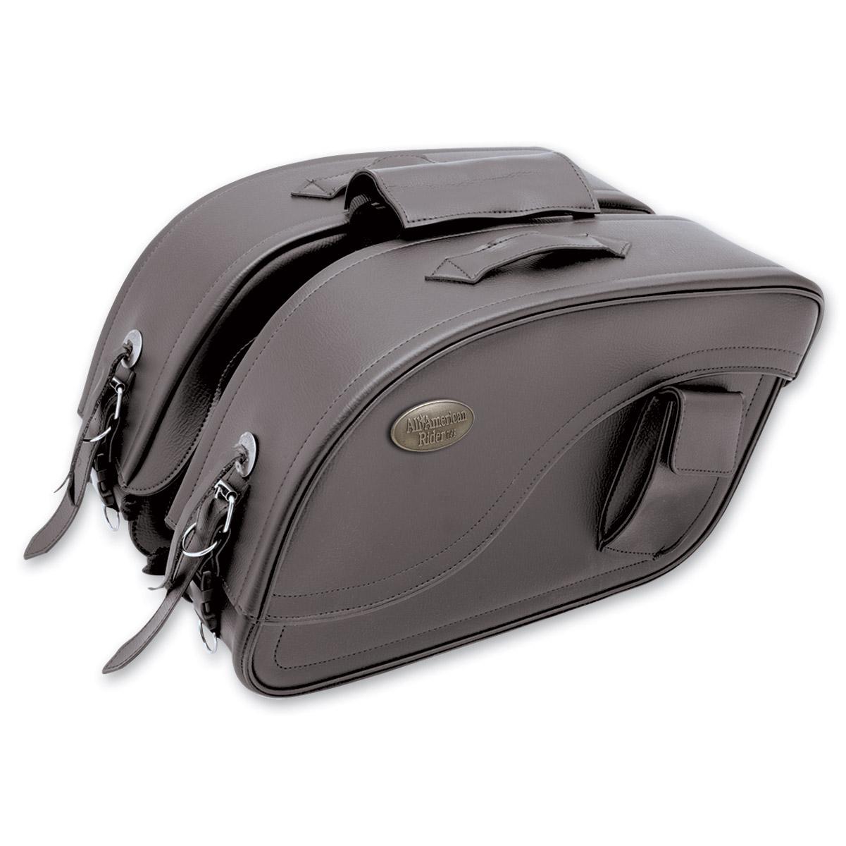 All American Rider Futura 2000 Detachable Slant Saddlebags