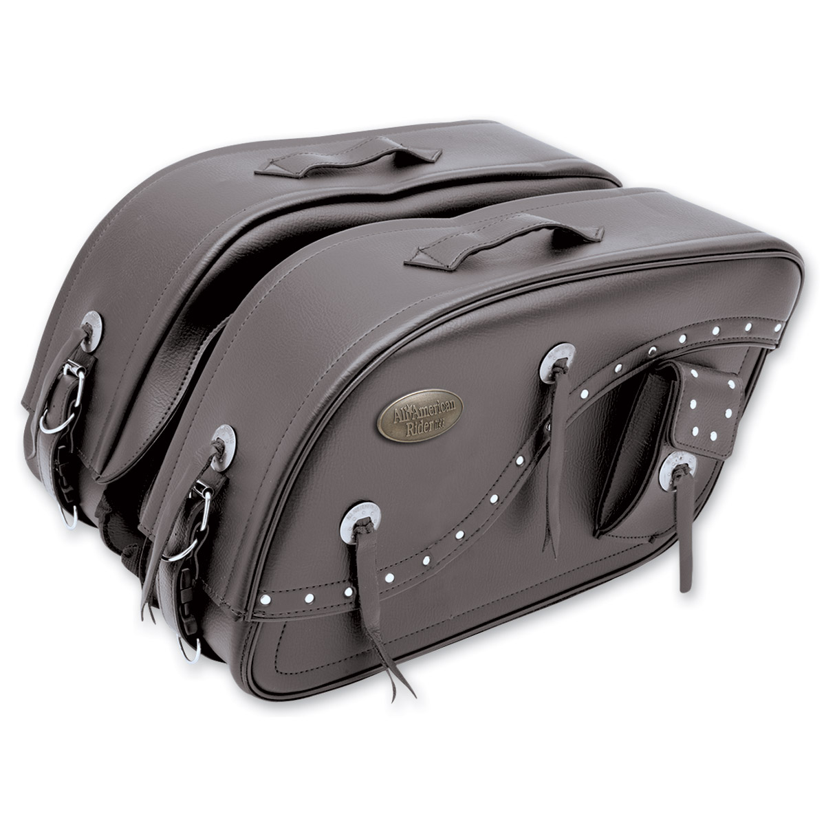 All American Rider Flap-Over Futura 2000 Super Size Saddlebags