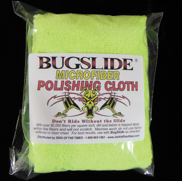 Bugslide Microfiber Polishing Cloth