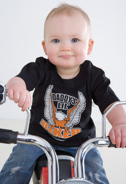J&P Cycles® Daddy's Lil Biker T-shirt