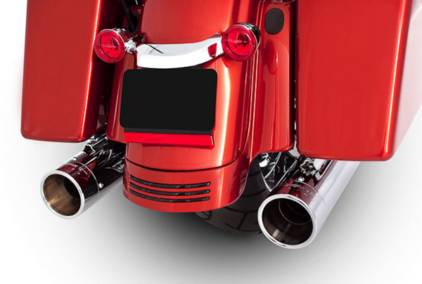 Rinehart Racing 4″ Slip-on Mufflers Chrome w/ Chrome End Caps
