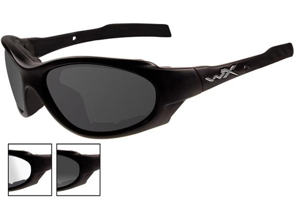 Wiley X XL-1 Advanced Matte Black Frame Changeable Sunglasses