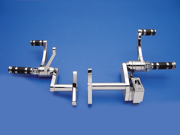 V-Twin Manufacturing Billet Forward Control Kit for XL Models