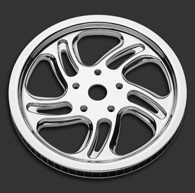 Performance Machine Rival Chrome Pulley