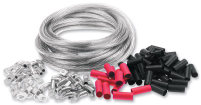 25′ Black Bulk Cable Kit