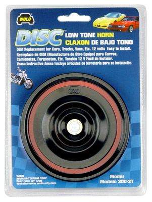 Wolo Low Tone Disc Horn