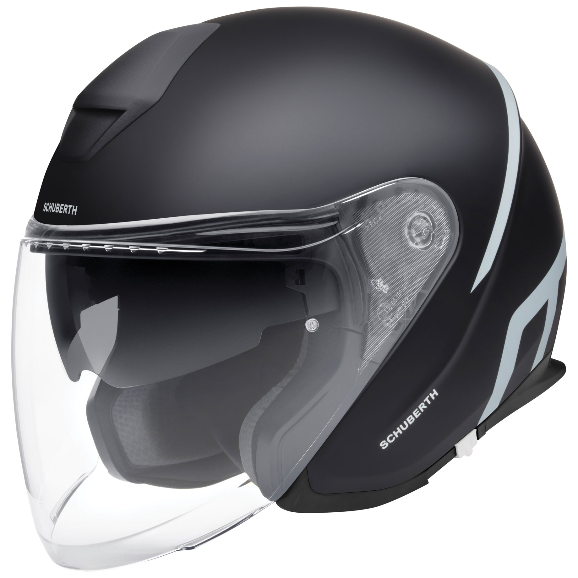 Schuberth M1 Pro Strike Black Open Face Helmet
