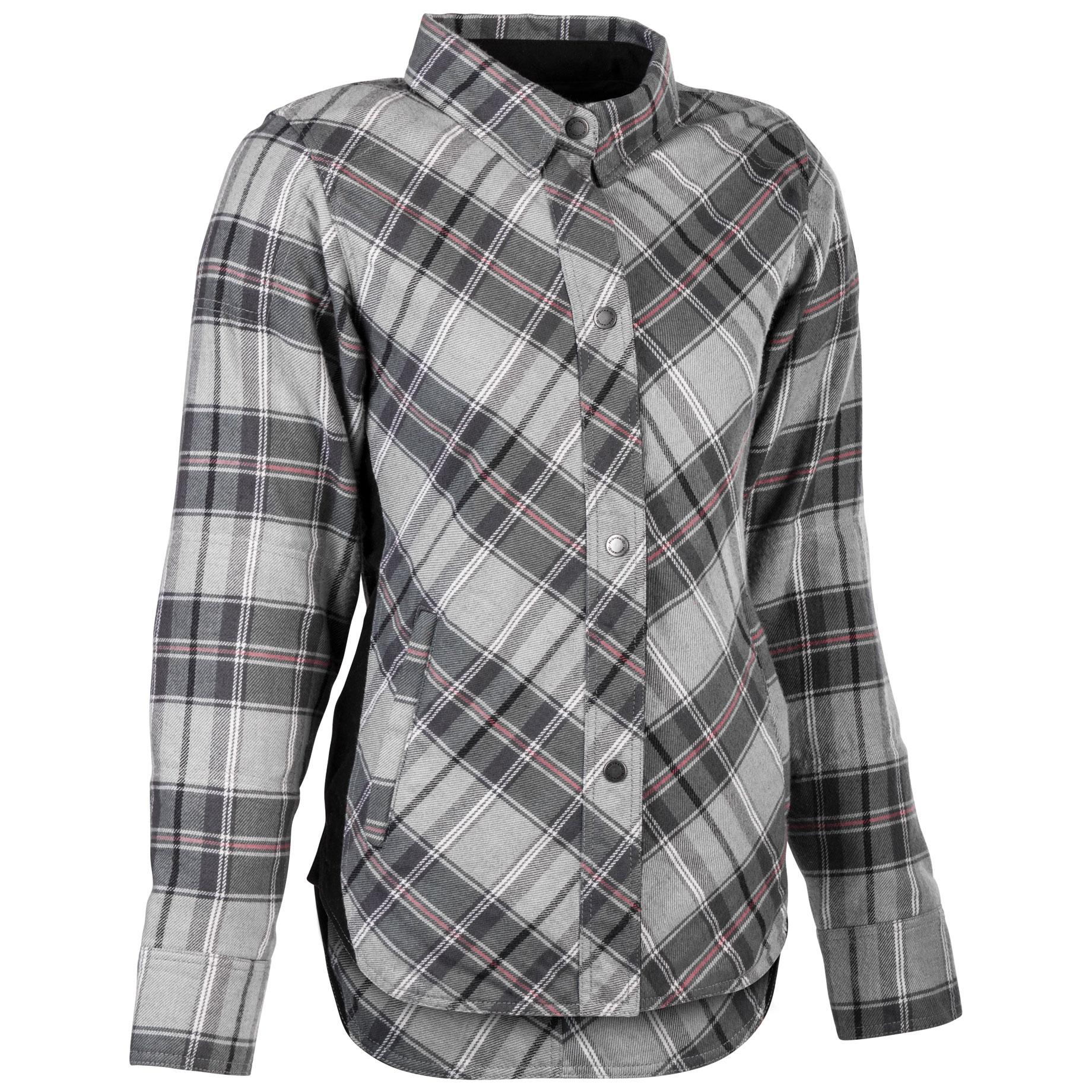 Highway 21 Women's Rogue Pink/Gray Flannel Jacket