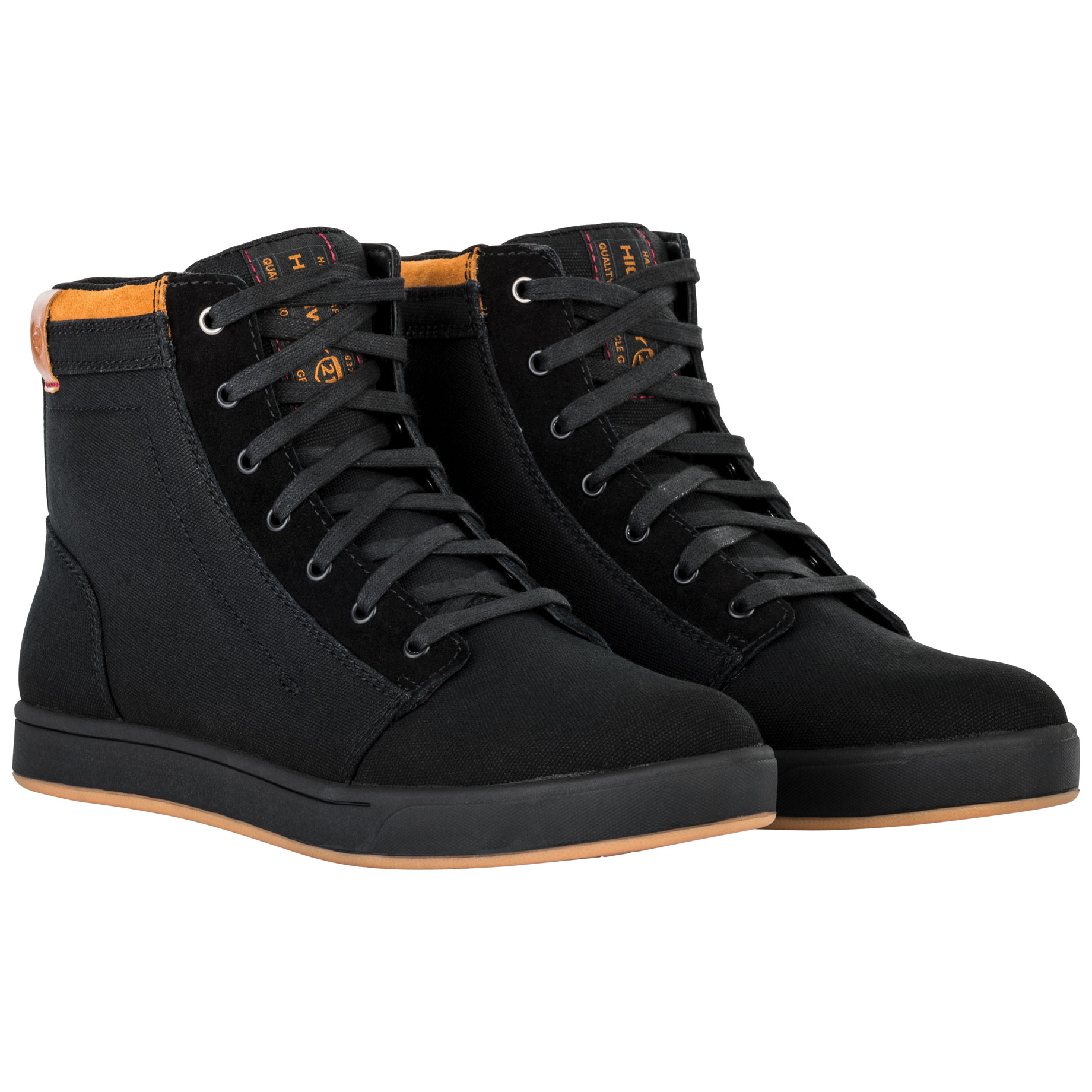 Highway 21 Men's Axle Black Riding Shoes