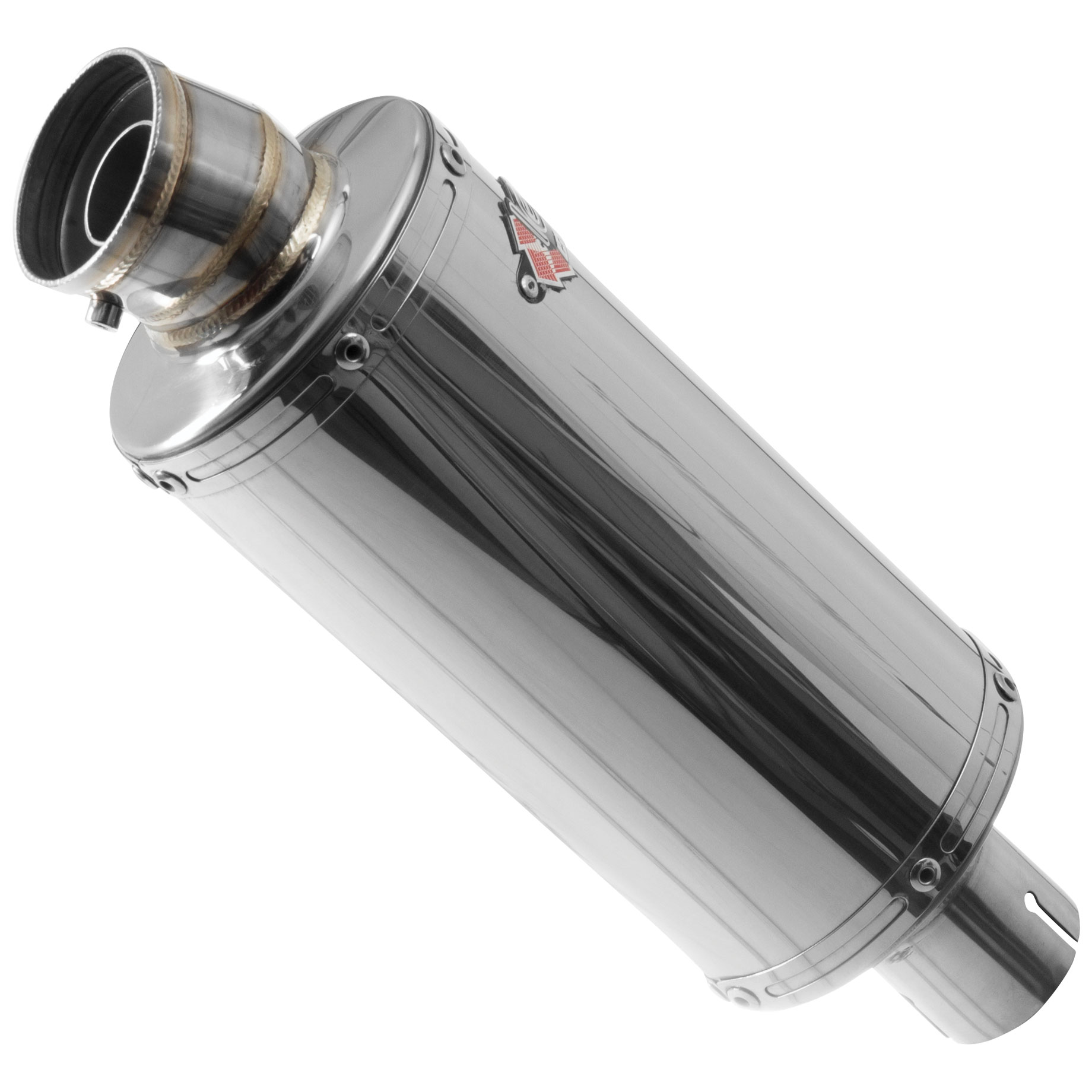 Lextek OP5 Polished Silencer 250mm