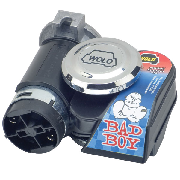 Wolo Bad Boy Black Air Horn