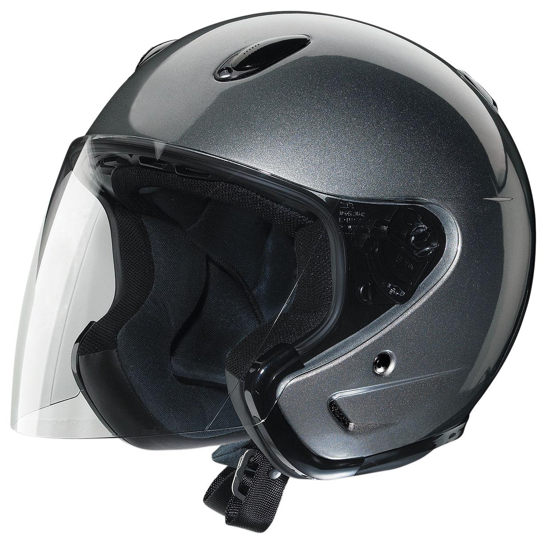 Z1R Ace Dark Silver Open Face Helmet