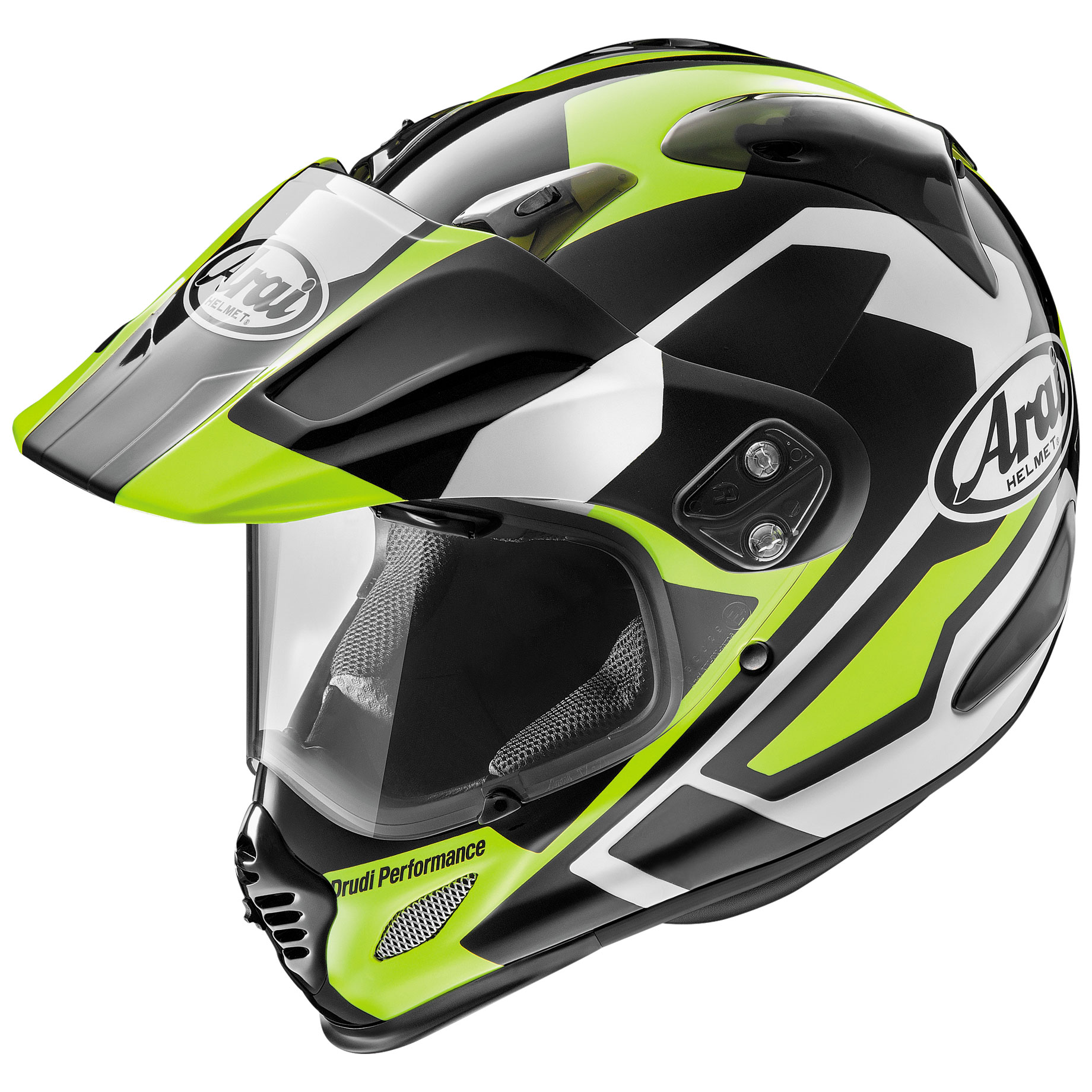 Arai XD4 Catch Yellow Dual Sport Helmet