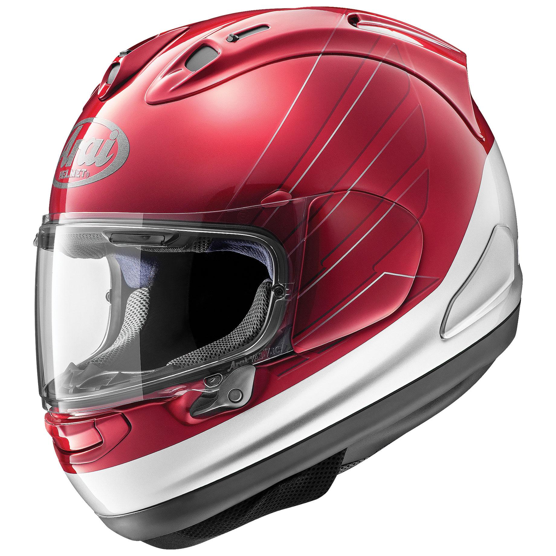 Arai Corsair-X CB Red/Silver Full Face Helmet
