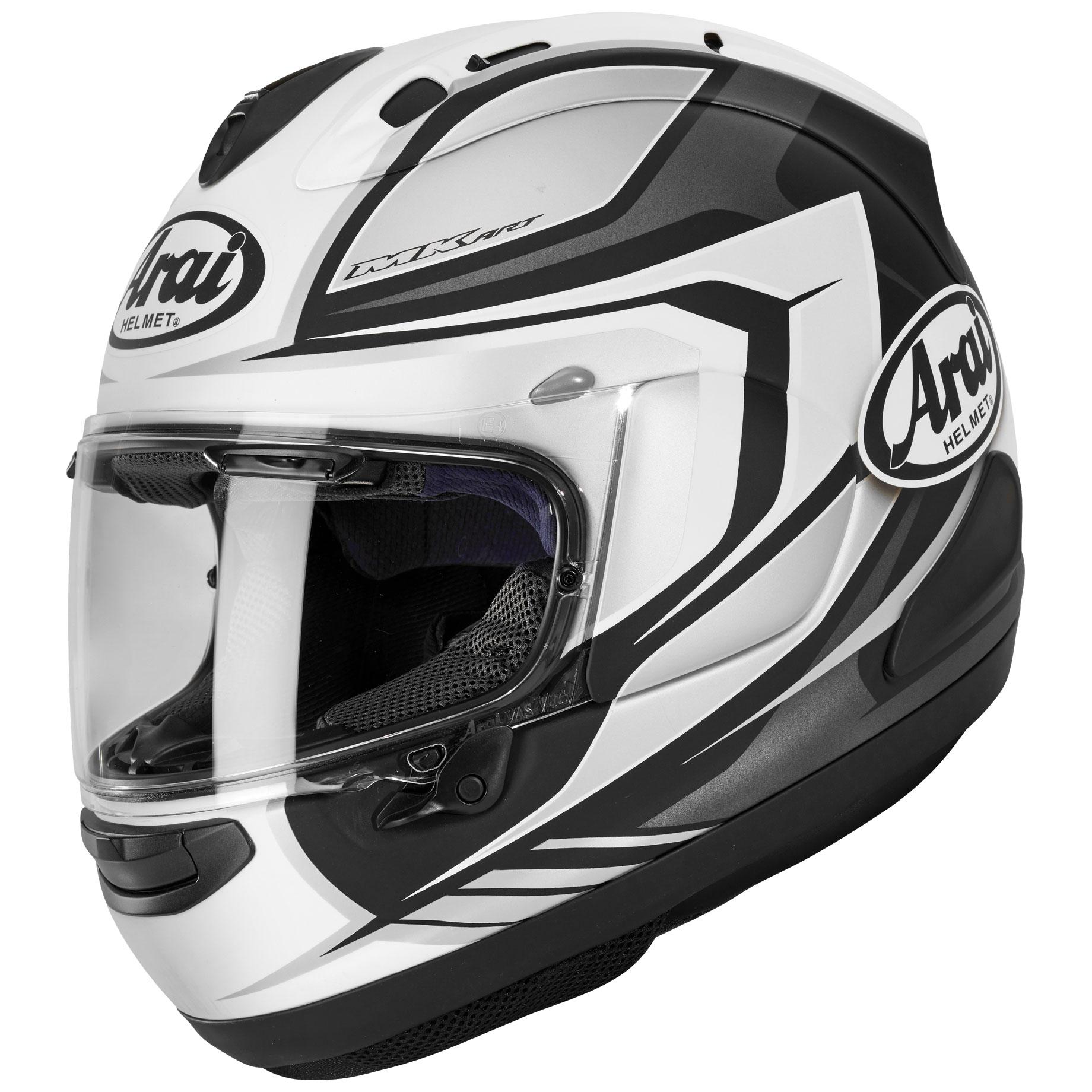 Arai Corsair-X Bracket White Frost Full Face Helmet