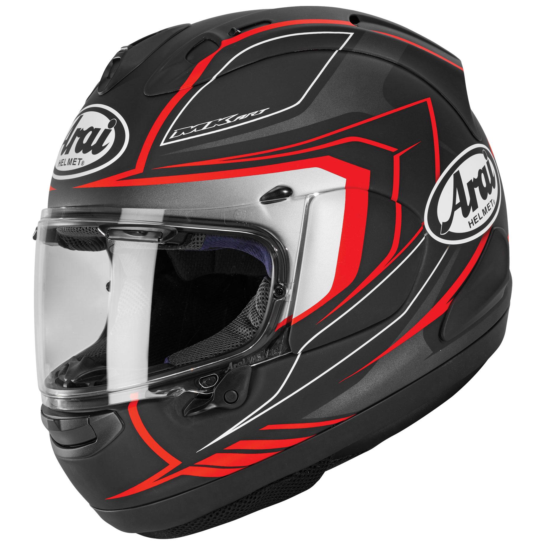 Arai Corsair-X Bracket Black Frost Full Face Helmet
