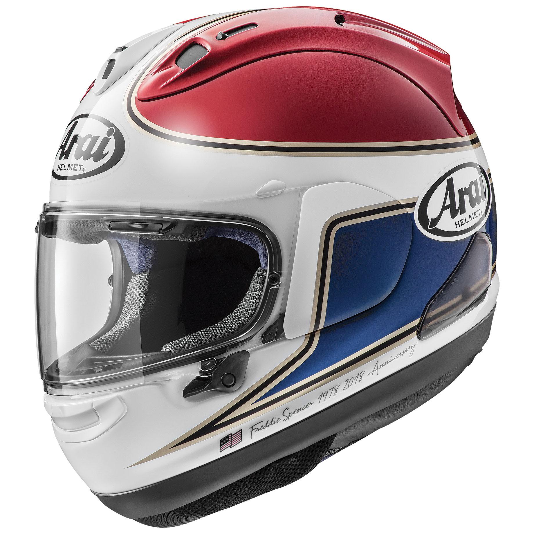Arai Corsair-X Spencer 40 Red Full Face Helmet