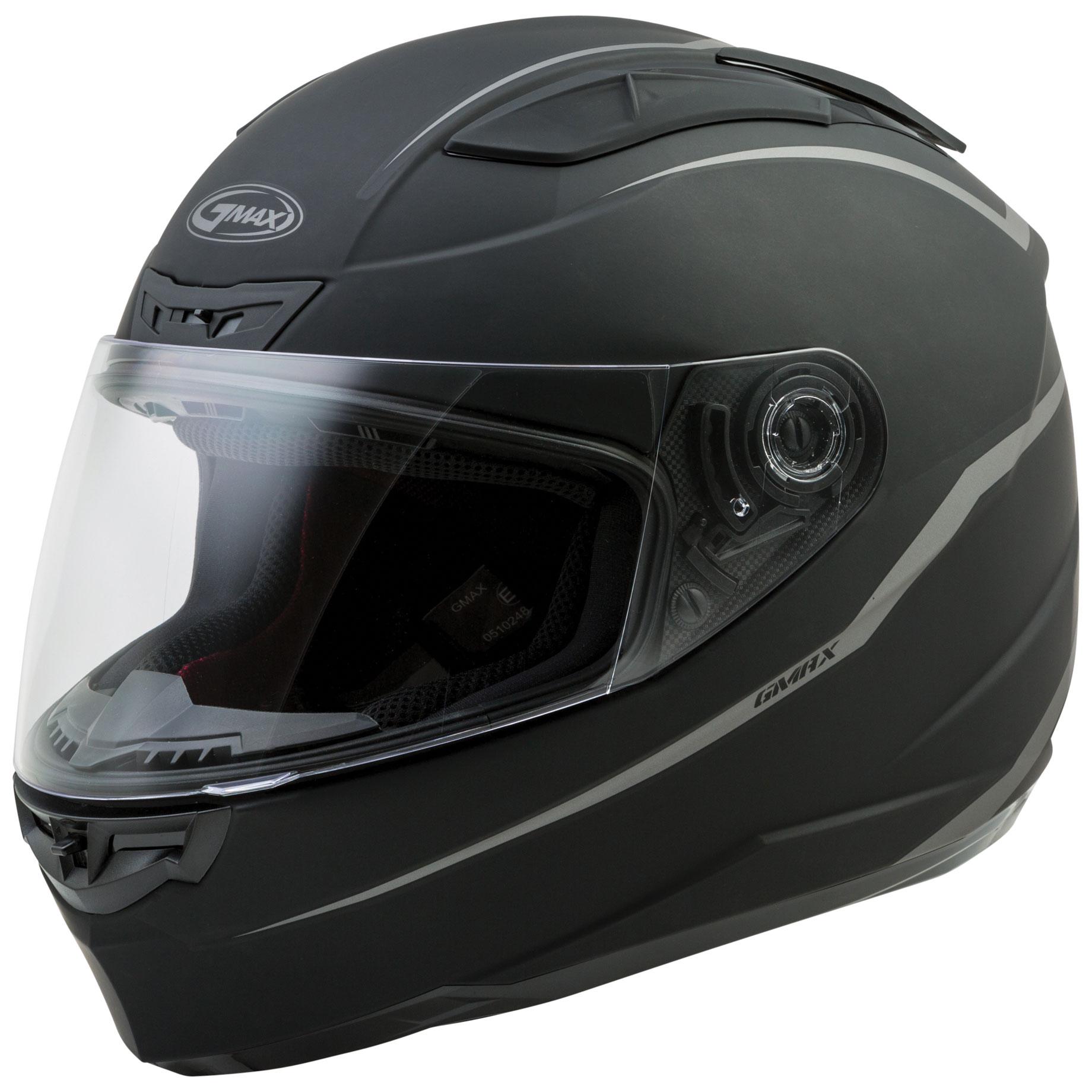 GMAX FF-88 Precept Matte Black Full Face Helmet