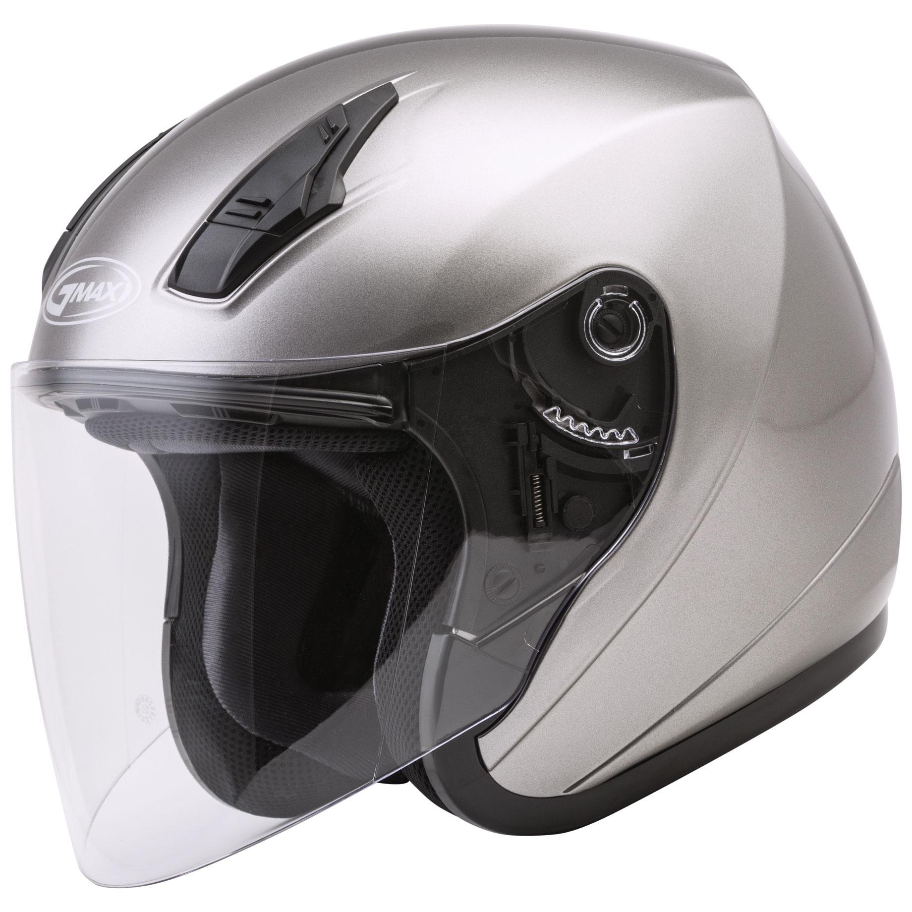 GMAX OF17 Titanium Open Face Helmet