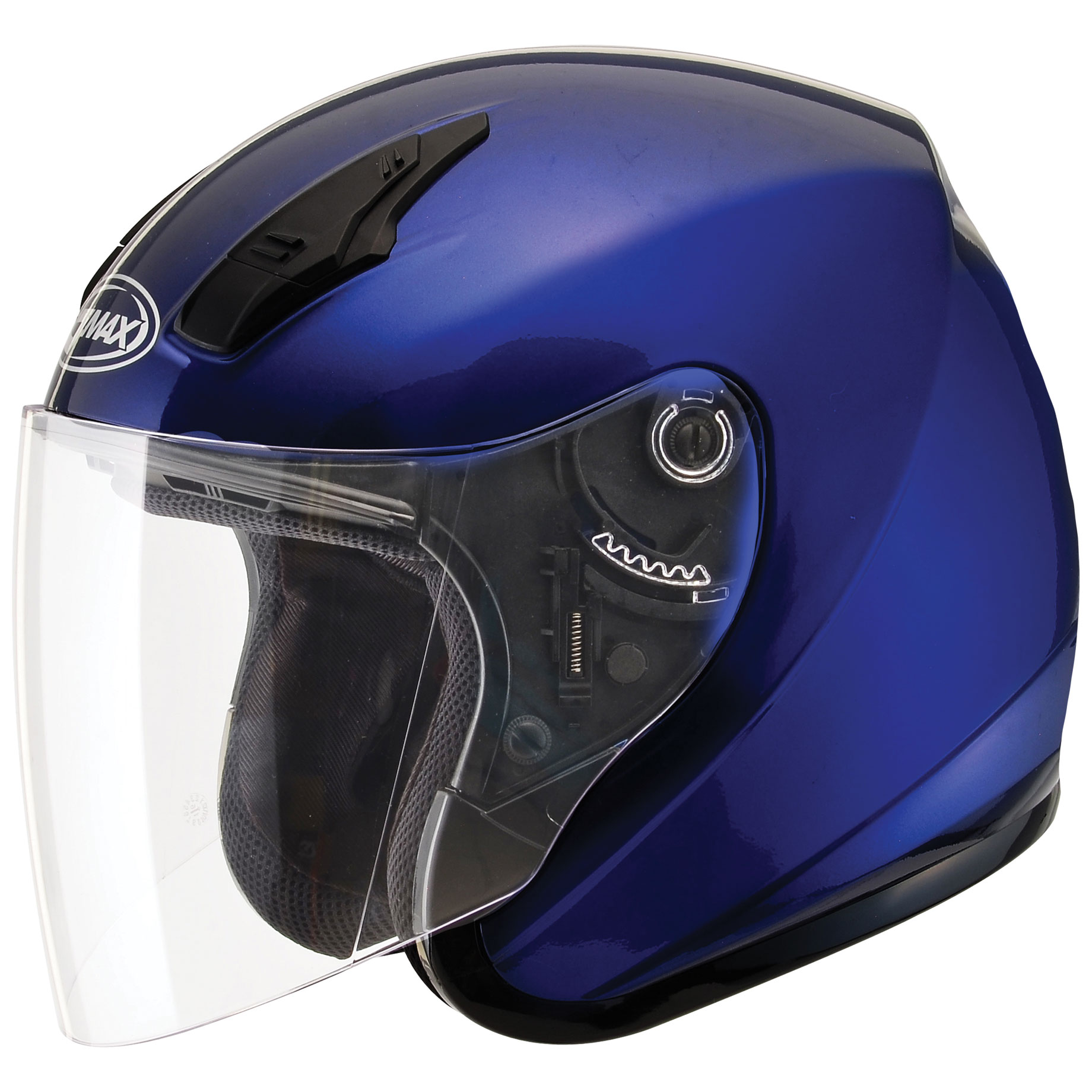 GMAX OF17 Blue Open Face Helmet