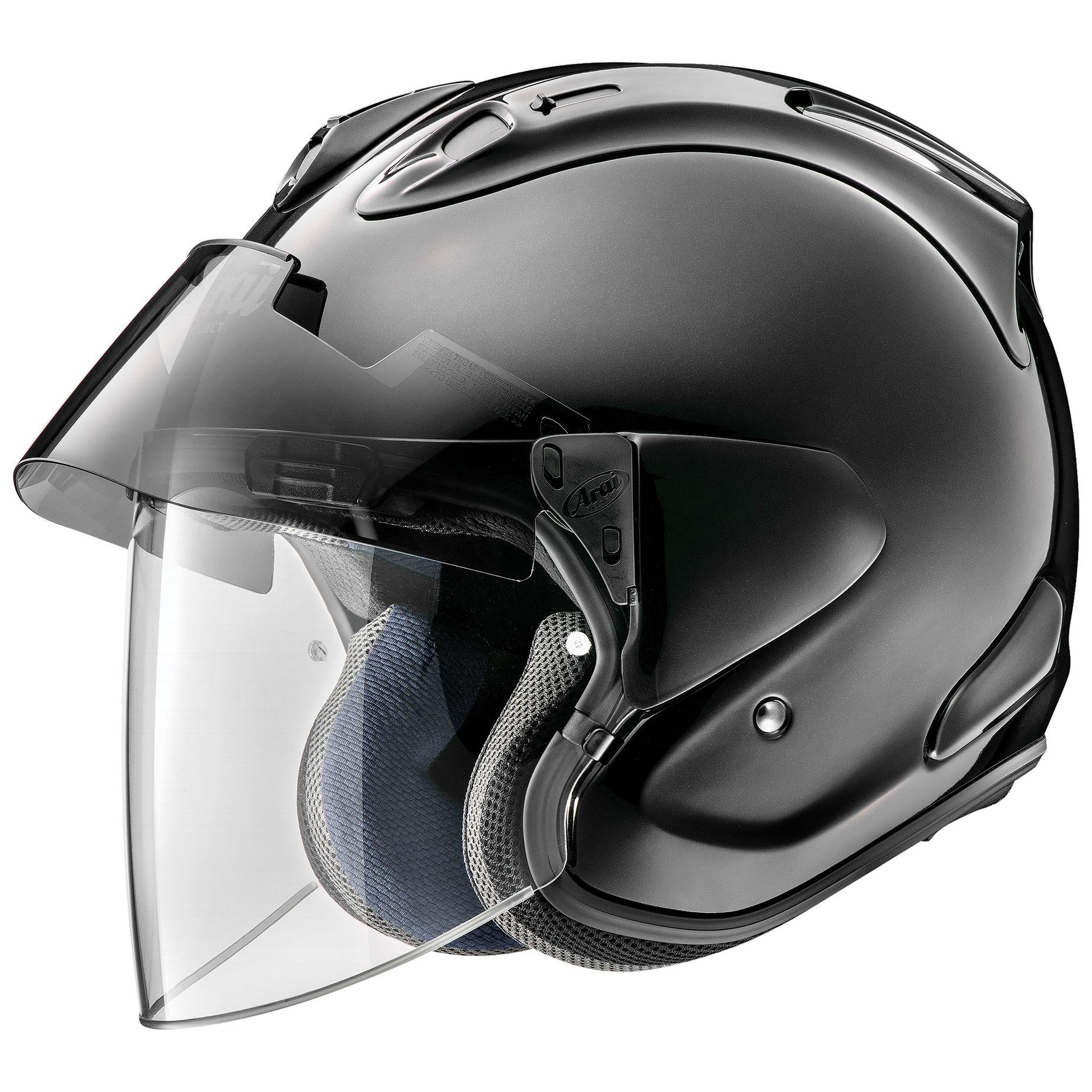 Arai Ram-X Diamond Black Open Face Helmet - 685311164018