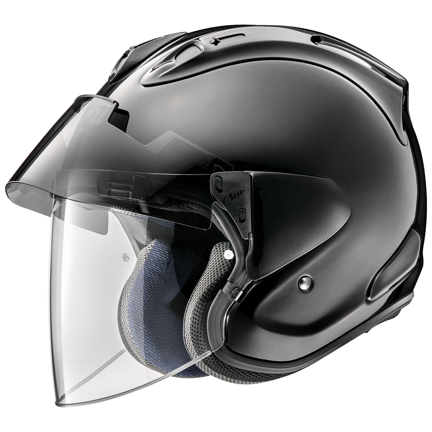 Arai Ram-X Diamond Black Open Face Helmet