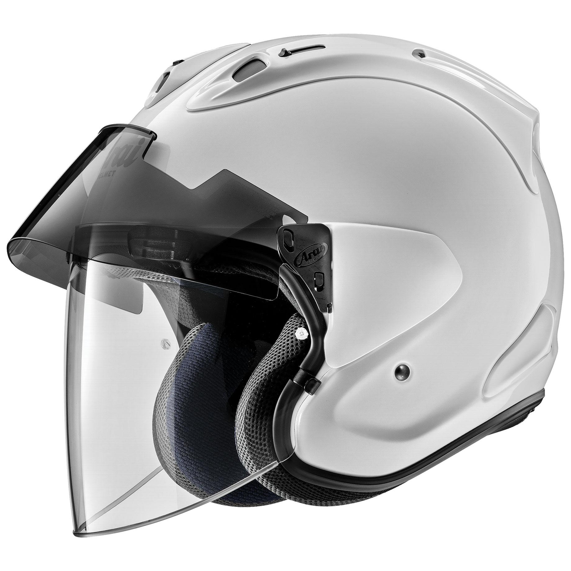 Arai Ram-X Diamond White Open Face Helmet - 685311163950