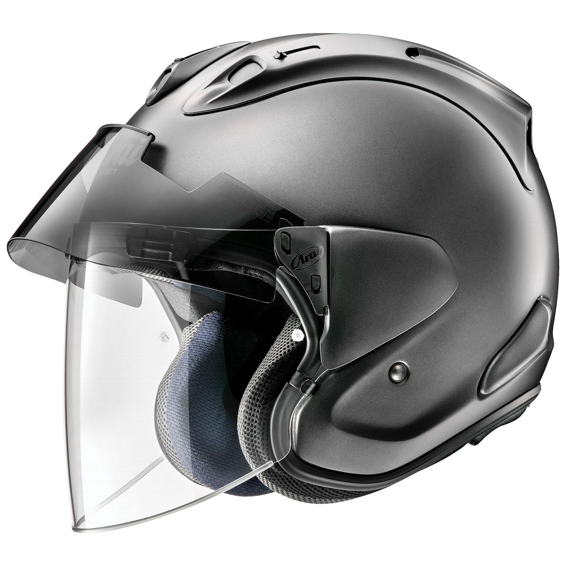 Arai Ram-X Gun Metallic Frost Open Face Helmet