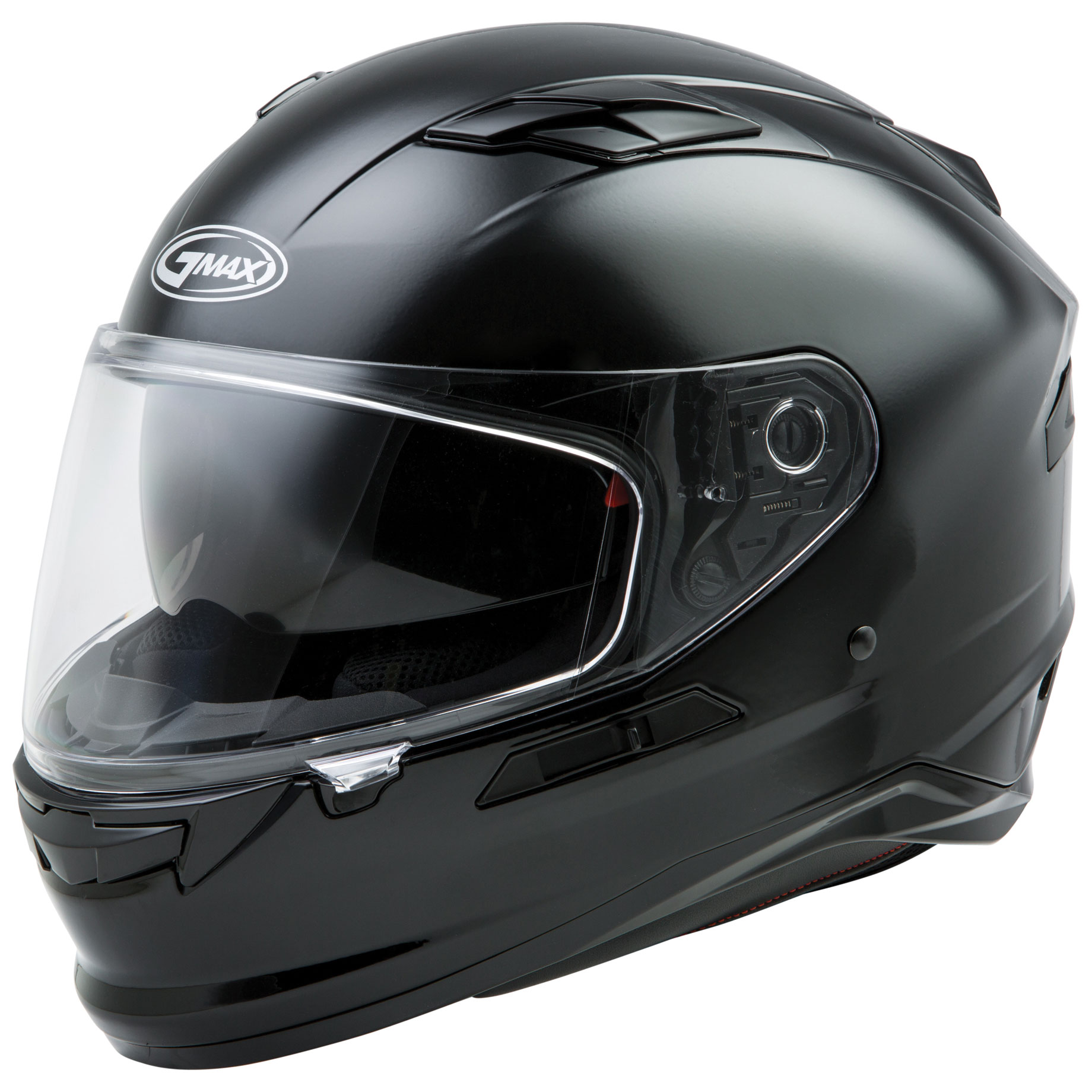 GMAX FF98 Gloss Black Full Face Helmet