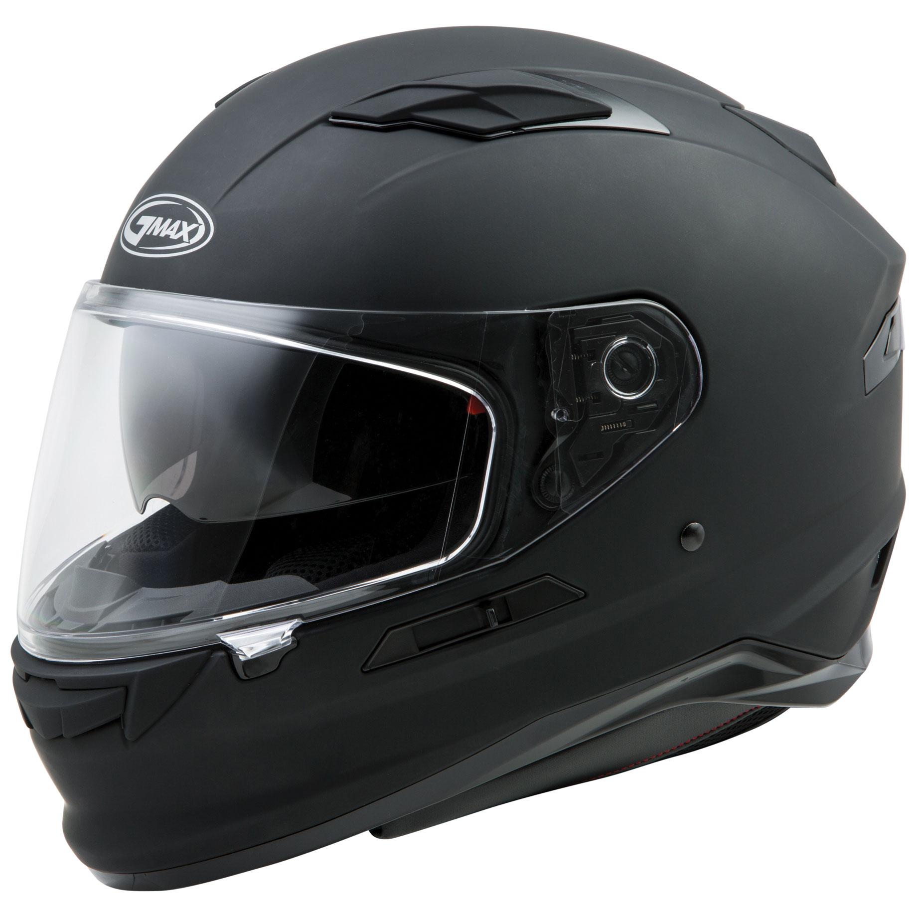 GMAX FF98 Matte Black Full Face Helmet