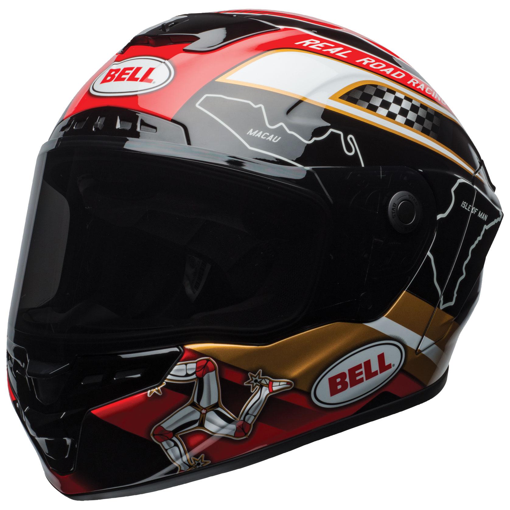Bell Star MIPS DLX Isle of Man 2018 Full Face Helmet
